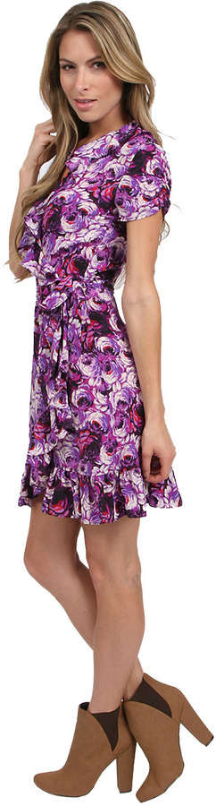 Juicy Couture Wrap Dress in Rose