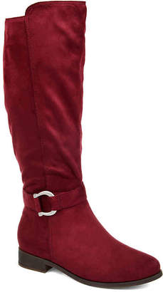 Journee Collection Cate Extra Wide Calf Riding Boot - Women's