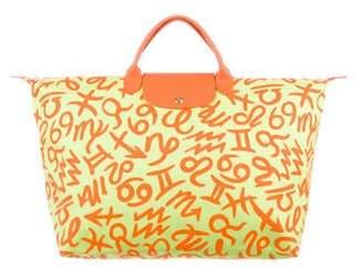 Jeremy Scott x Longchamp Zodiac Pliage Bag