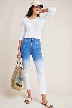 Paige Hoxton High-Rise Slim Jeans