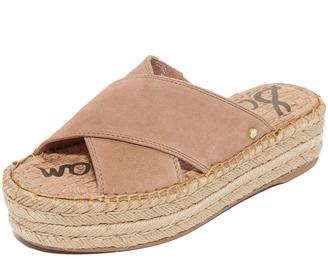 Sam Edelman Natty Flatform Sandals $90 thestylecure.com