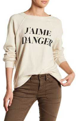 Wildfox Couture J'aime Danger Sweater
