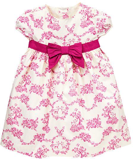 Gymboree Toile Floral Dress