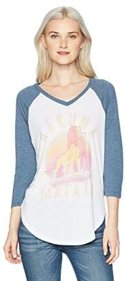 Disney Junior's Women's Fashion Ranglan Top