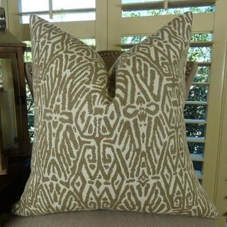 Bloomsbury Market Monty Graphic Designer Luxury Single-Sided Pillow Bloomsbury Market