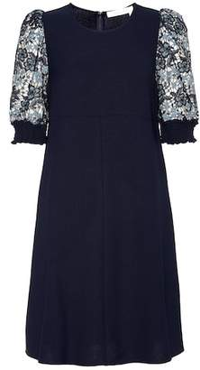See by Chloe Lace sleeve dress