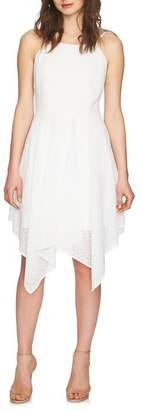 Cynthia Steffe CeCe by Reese Handkerchief Hem Dress