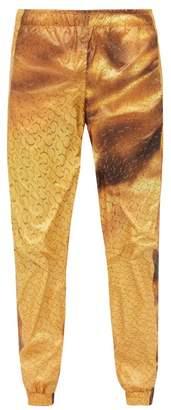 Cottweiler Printed Track Pants - Mens - Gold