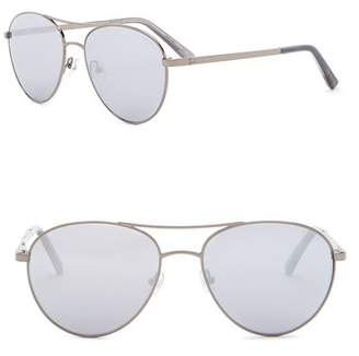 Ted Baker 56mm Aviator Sunglasses