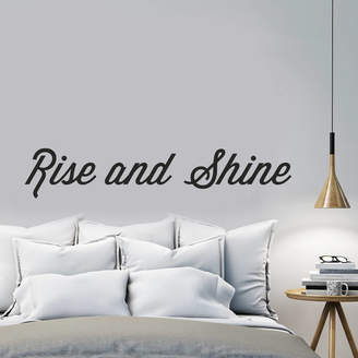 Oakdene Designs 'Rise And Shine' Wall Sticker