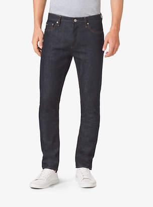 Michael Kors Slim-Fit Selvedge Jeans