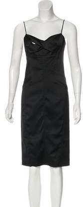 Narciso Rodriguez Knee-Length Slip Dress