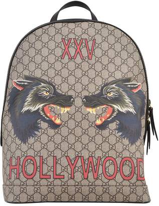 Gucci Tiger Heads Backpack