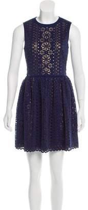Manoush Laser Cut Sleeveless Dress