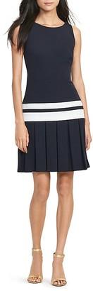 Lauren Ralph Lauren Striped Drop-Waist Dress $160 thestylecure.com