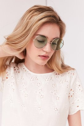 Urban Outfitters Margaret Round Sunglasses $18 thestylecure.com