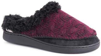 Muk Luks Womens Aileen Clog Clog Slippers