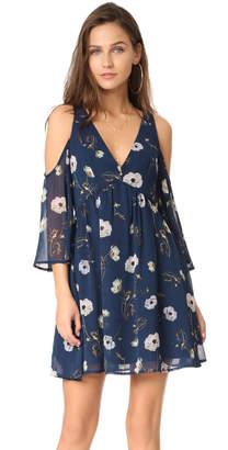 BB Dakota Rylie Camellia Chiffon Dress $95 thestylecure.com