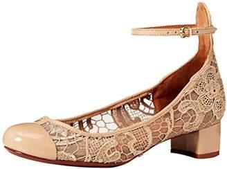Schutz Women's Patricia Pump with Ankle Strap