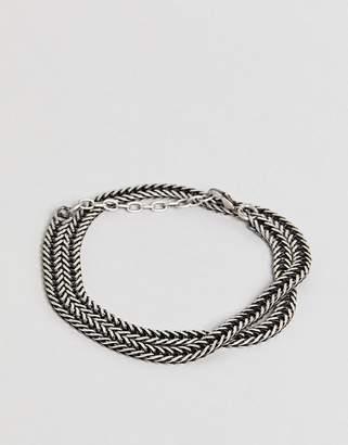 Seven London Chain Bracelet In Silver