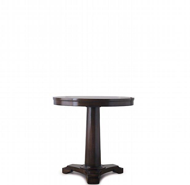 Portman Pedestal Night Table Espresso - 30