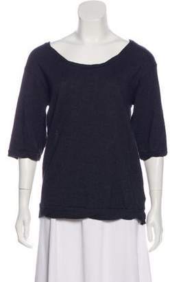 Unconditional Wool-Blend Top