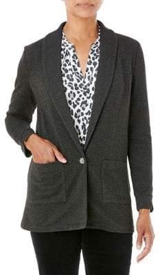 Olsen Comfy Sport Shawl Collar Long Jacket