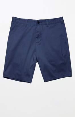 PacSun Slim Navy Chino Shorts