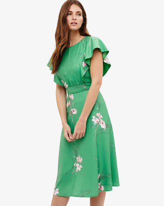 Phase Eight Beatrix Floral Printed Dress