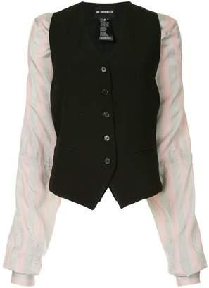 Ann Demeulemeester padded waistcoat style jacket