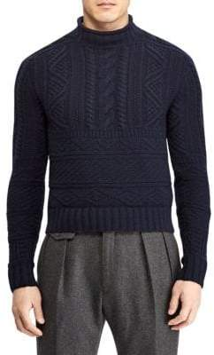 Ralph Lauren Purple Label Wool& Cashmere Sweater