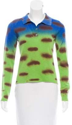 Lucien Pellat-Finet Printed Cashmere Top