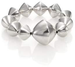Nest Large Bi-Cone Beaded Stretch Bracelet