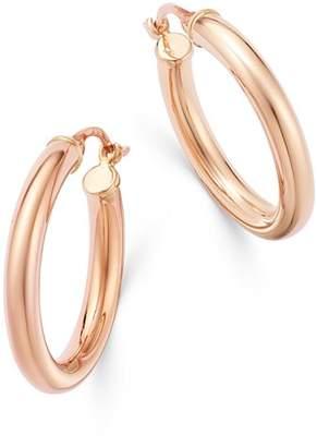 Bloomingdale's Wide Hoop Earrings in 14K Rose Gold - 100% Exclusive