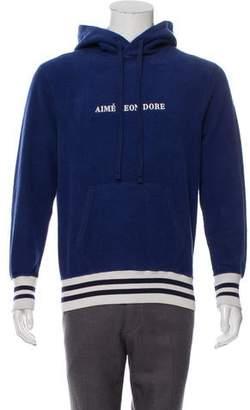 Leon Aimé Dore Logo Pullover Hoodie w/ Tags