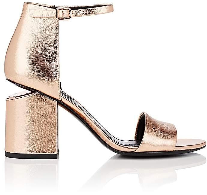 Alexander Wang Women's Abby Metallic Leather Sandals