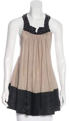 Thomas Wylde Embellished Sleeveless Top