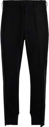 Y-3 Patchwork Lack Trousers With Asymmetric Cut