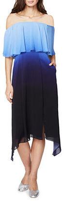 Rachel Rachel Roy Ombre Popover Dress $159 thestylecure.com