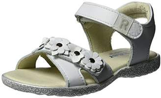 Richter Kinderschuhe Girls' Sissi S Open Toe Sandals White Size:
