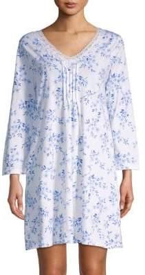 Carole Hochman Lace-Trimmed V-Neck Sleepshirt