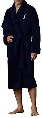 Ralph Lauren Polo Shawl Collar Robe, Navy
