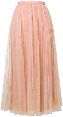 RED Valentino tulle pleated dress