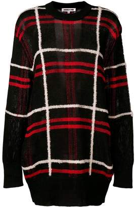 McQ oversized plaid sweater