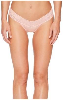 Hanky Panky Petite Cotton Low Rise Thong Women's Underwear