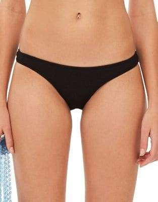 Topshop Crinkle Classic Bikini Bottoms