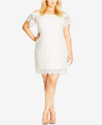 Off White Evening Dresses Plus Size Shopstyle