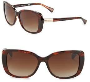 Ralph Lauren Ralph By Eyewear 57MM Oversized Cat Eye Sunglasses