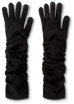 Merona Women's Thinslate Long Glove Black OSFM - Merona $14.99 thestylecure.com
