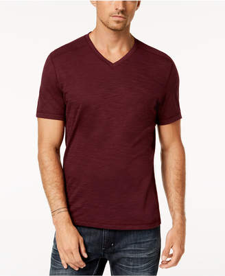 INC International Concepts I.n.c. Men's Ribbed V-Neck T-Shirt, Created for Macy's
